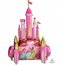Шар (54''/137 см) Ходячая Фигура, Сказочный Замок, Принцессы Диснея