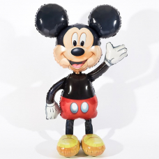 Шар (52''/132 см) Ходячая Фигура, Микки Маус