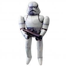 Шар (44''/112 см) Ходячая Фигура, Звездные войны, Штурмовик