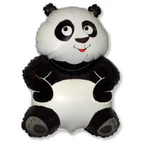 """Шар (33''/84 см) Фигура, """"Большая панда, Белый"""""""