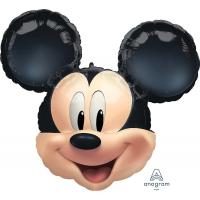 Шар (25''/64 см) Фигура, Голова, Микки Маус