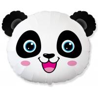 Шар (25''/64 см) Фигура, Голова, Маленькая Панда