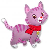 Шар (32''/81 см) Фигура, Любимый котенок, Фуше