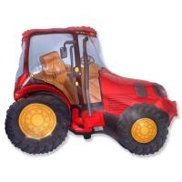 Шар (37''/94 см) Фигура, Трактор Красный