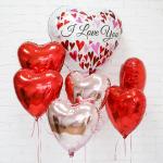 Воздушные Шары для любимых на 14 февраля.