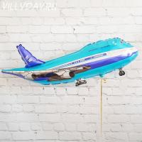 """Шар (39""""/99 см) Фигура, Самолет пассажирский"""