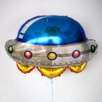 """Шар (26""""/66 см) Фигура, Космический корабль"""