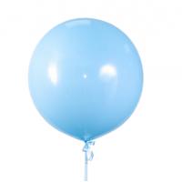 "Шар Гигант  24""/65 см.""Голубой"""